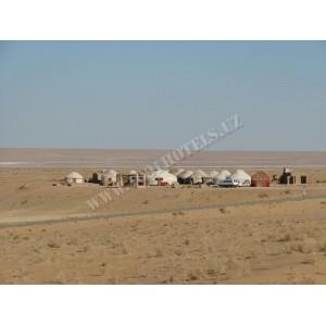 Юртовый лагерь Аяз-Кала